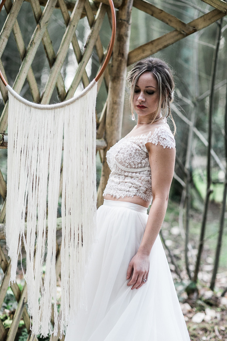Bride hanging by Macrame